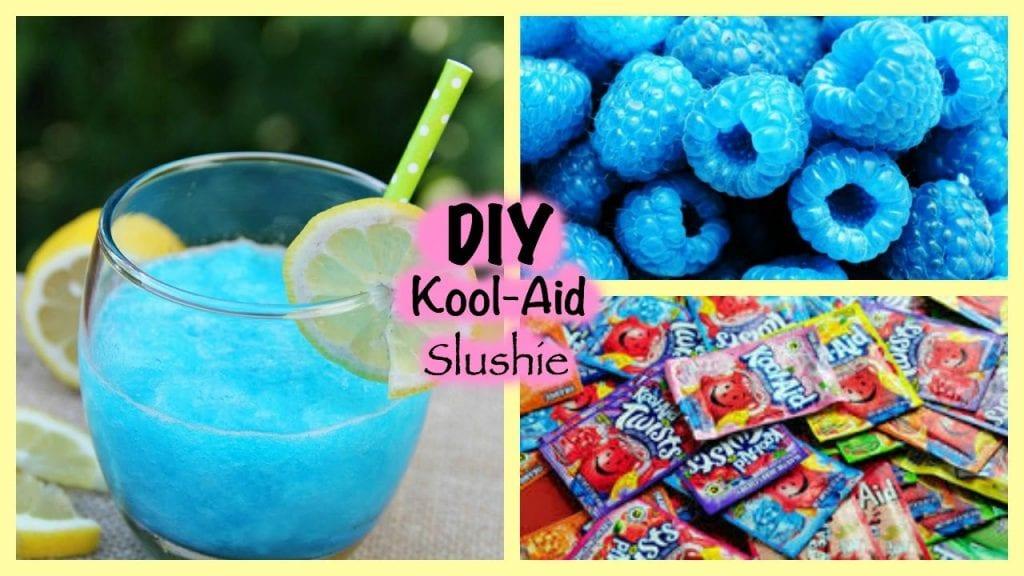 how to make a slushie with kool aid