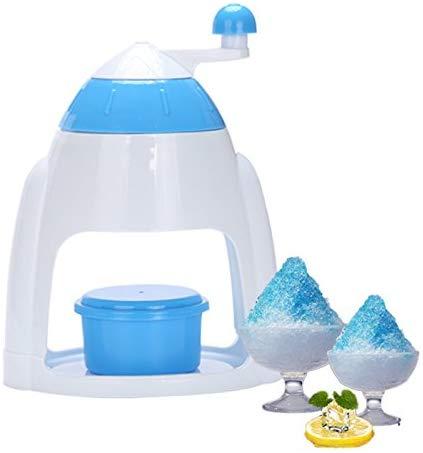 Ice Crusher with Matching Bowl Manual Ice Machine