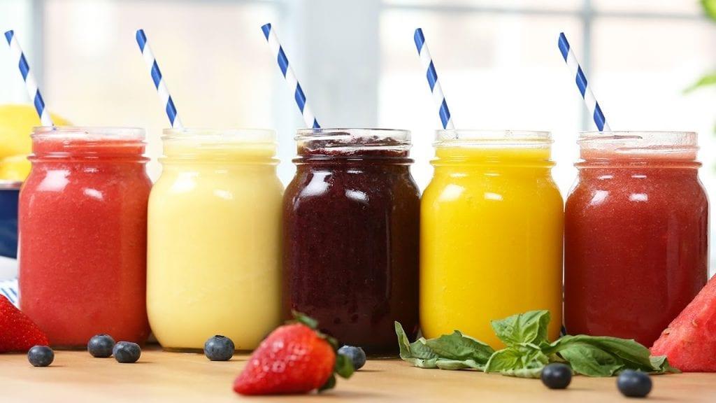 how to make a slushie with juice