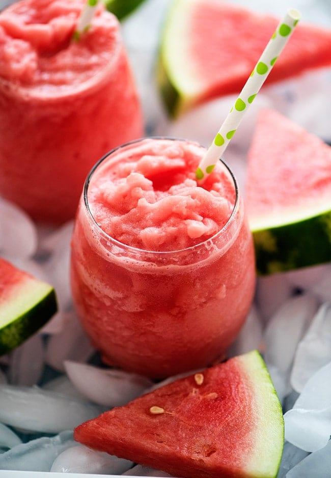 watermelon slushie recipes