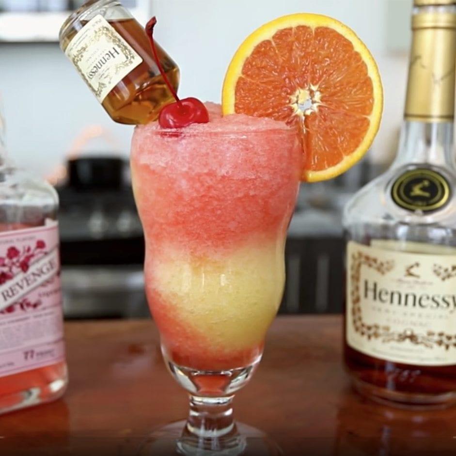 Hennessy Slushie Recipe Two Tone Hennessy Frozen Drink