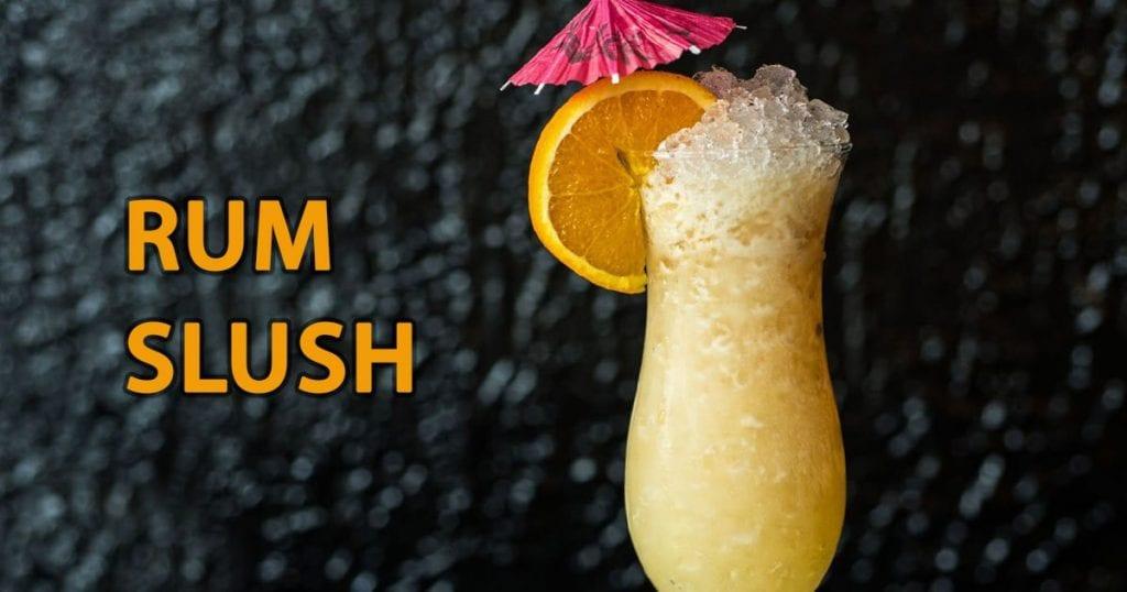 alcoholic slush recipes with rum