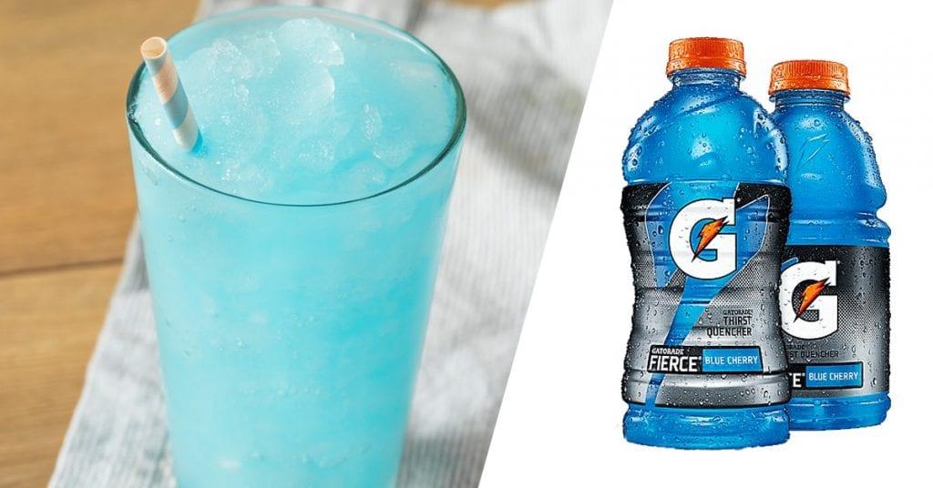 frozen gatorade
