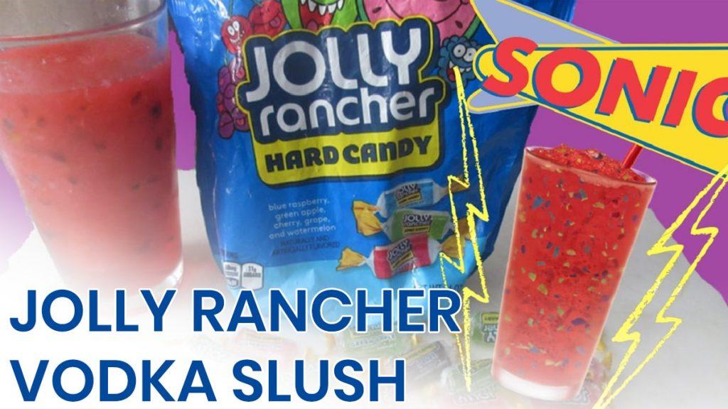 jolly rancher vodka slush