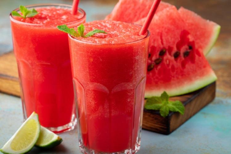 watermelon vodka slushies